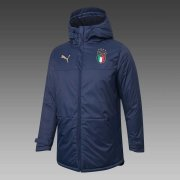 2020/2021 Italy Navy Soccer Winter Jacket Men's