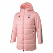 2020/2021 Juventus Pink Soccer Winter Jacket Men's