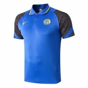 2020-2021 Inter Milan Blue Soccer Polo Jersey