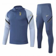 2020/2021 Tottenham Hotspur Blue Soccer Training Suit Men