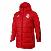 2020/2021 Bayern Munich Red Soccer Winter Jacket Men's