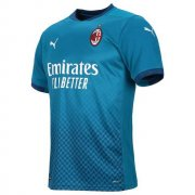 2020/2021 AC Milan Third Blue Soccer Jersey Men's