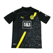 2020/21 Borussia Dortmund Away Black Men Soccer Jersey Shirt