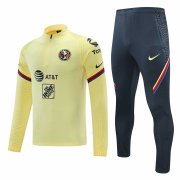 2020/2021 Club America Yellow Men's Soccer Training Suit