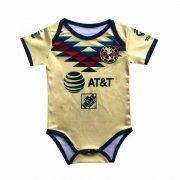 2019/2020 Club America Home Yellow Baby Infant Crawl Soccer Jersey Shirt