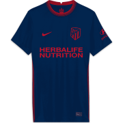 2020/2021 Atlético de Madrid Away Navy Women Soccer Jersey Shirt