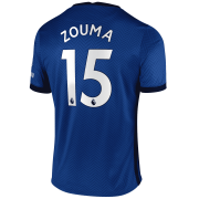 2020/2021 Chelsea Home Blue Men's Soccer Jersey Zouma #15