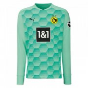 2020/2021 Borussia Dortmund Goalkeeper Green Men Soccer Jersey Shirt