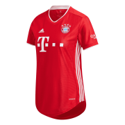 2020/2021 Bayern Munich Home Red Women Soccer Jersey Shirt
