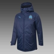 2020/2021 Olympique Marseille Navy Soccer Winter Jacket Men's
