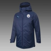 2020/2021 Manchester City Navy Soccer Winter Jacket Men's