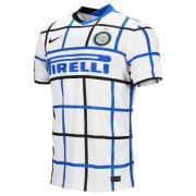 2020/2021 Inter Milan Away White Soccer Jersey Men's
