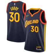 2020/2021 Golden State Warriors Navy Swingman Jersey City Edition Oakland Forever