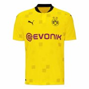 2020/2021 Borussia Dortmund Cup League Yellow Men Soccer Jersey Shirt