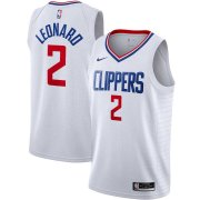 2020/2021 Los Angeles Clippers White Swingman Jersey - Association Edition