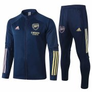 2020-2021 Arsenal Navy Jacket Soccer Training Suit
