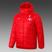 2020/2021 Liverpool Red Soccer Winter Jacket Men's