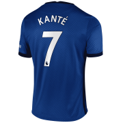 2020/2021 Chelsea Home Blue Men's Soccer Jersey Kante #7