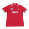 88/89 Napoli Third Away Red Retro Soccer Jersey Shirt Men