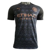 2020/2021 Manchester City Away Black Soccer Jersey Men's - Match