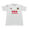 00/01 AS Roma Away White Retro Soccer Jersey Shirt Men