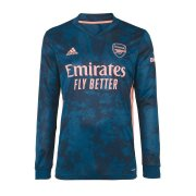 2020/2021 Arsenal Third Navy LS Soccer Jersey Men's