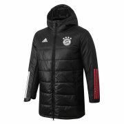 2020/2021 Bayern Munich Black Soccer Winter Jacket Men's