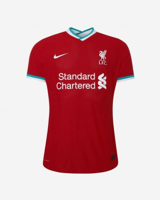 2020/2021 Liverpool Home Red Soccer Jersey Women's
