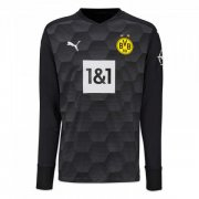 2020/2021 Borussia Dortmund Goalkeeper Black Men Soccer Jersey Shirt