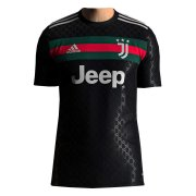 2020/2021 Juventus x Gucci Special Edition Black Soccer Jersey Men's