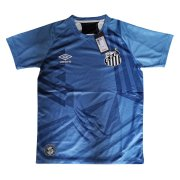 2020/2021 Santos Goalkeeper Blue Soccer Jersey Men's