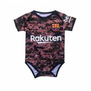 2019/2020 Barcelona Camouflage Red Baby Infant Crawl Soccer Jersey Shirt