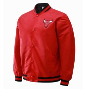 2020/2021 Chicago Bulls Full-Snap Red Jacket Mens