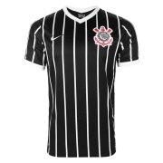 2020/2021 Corinthians Away Black Soccer Jersey Men's