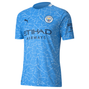 2020/2021 Manchester City Home Light Blue Men Soccer Jersey Shirt