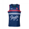 2020/2021 France Blue Rugby Soccer Tank Top Jersey Men's