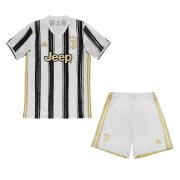 2020/2021 Juventus Home Kids Soccer Jersey Kit (Shirt + Short)