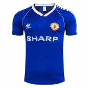 1988 Manchester United Retro Away Soccer Jersey Men's