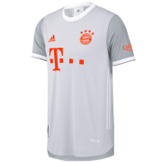 2020/2021 Bayern Munich Away Gray Soccer Jersey Men's