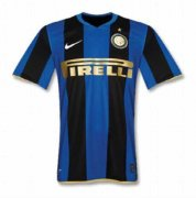 2008/2009 Inter Milan Retro Home Men's Soccer Jersey Shirt