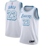 2020/2021 Los Angeles Lakers White Swingman Jersey - City Edition