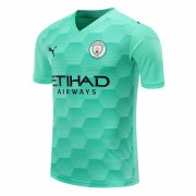 2020/2021 Manchester City Goalkeeper Green Soccer Jersey Men's