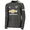 2020/2021 Manchester United Away Black LS Soccer Jersey Men's