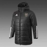 2020/2021 Boca Juniors Black Soccer Winter Jacket Men's