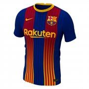 2020/2021 Barcelona Special Edition Blue&Red Stripes Men Soccer Jersey Shirt - Match