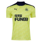 2020/2021 Newcastle United Away Yellow Soccer Jersey Men's