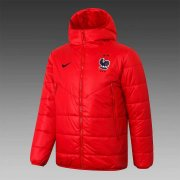 2020/2021 France Red Soccer Winter Jacket Men's