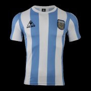 1986 Argentina Retro Home Soccer Jersey Men