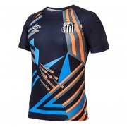 2020/2021 Santos Goalkeeper Black Soccer Jersey Men's