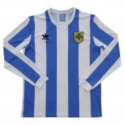 1978 Argentina Retro Home Long Sleeve Soccer Jersey Men